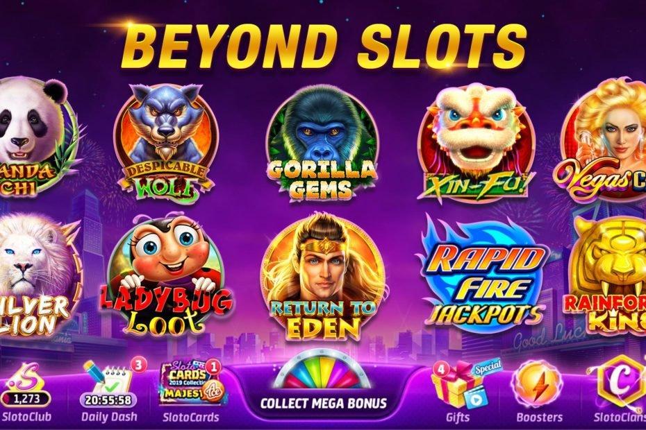 Mau Tobat Judi? Main Aja Slotomania - Vegas Slots Casino